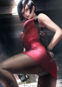 Rating: Safe Score: 54 Tags: ada_wong ass dress gun pantsu pantyhose possible_duplicate resident_evil see_through zumi_(zumidraws) User: charunetra