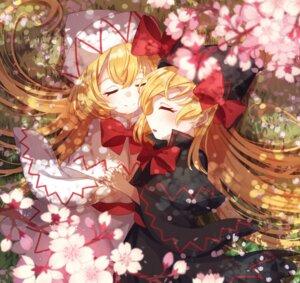 Rating: Safe Score: 4 Tags: ametama_(runarunaruta5656) lily_black lily_white touhou yuri User: Mr_GT