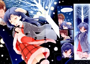 Rating: Safe Score: 11 Tags: christmas gap kisaragi_chihaya komi_zumiko panda_ga_ippiki the_idolm@ster thighhighs User: Radioactive
