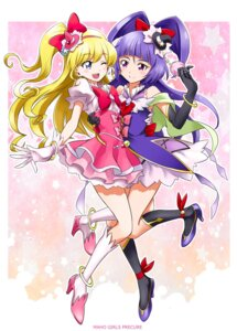 Rating: Safe Score: 22 Tags: asahina_mirai dress heels izayoi_riko kurose_kousuke mahou_girls_precure! pretty_cure symmetrical_docking witch User: nphuongsun93