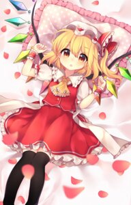 Rating: Safe Score: 29 Tags: flandre_scarlet ruhika thighhighs touhou wings User: Mr_GT