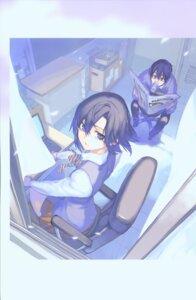 Rating: Safe Score: 12 Tags: kurenai kurenai_shinkurou murakami_ginko yamamoto_yamato User: Radioactive