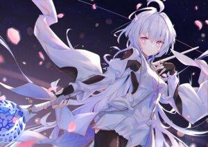 Rating: Safe Score: 32 Tags: bodysuit dress fate/stay_night kyaroru merlin_(fate/stay_night) pointy_ears weapon User: BattlequeenYume