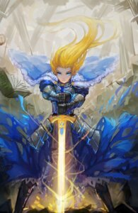 Rating: Safe Score: 35 Tags: armor dress fate/stay_night gods saber sword User: Mr_GT