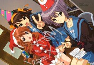 Rating: Safe Score: 42 Tags: asahina_mikuru christmas ikeda_shouko nagato_yuki seifuku suzumiya_haruhi suzumiya_haruhi_no_yuuutsu User: Radioactive