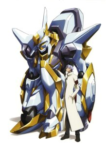 Rating: Safe Score: 7 Tags: code_geass kimura_takahiro lloyd_asplund male mecha nakada_eiji User: Radioactive