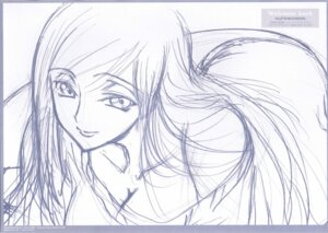 Rating: Safe Score: 12 Tags: code_geass monochrome ochiai_hitomi sketch viletta_nu User: Radioactive