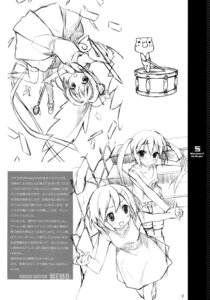 Rating: Safe Score: 6 Tags: 5_nenme_no_houkago dress kantoku monochrome sketch User: Hatsukoi