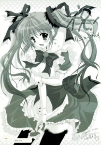 Rating: Safe Score: 9 Tags: izumi_tsubasu melonbooks melon-chan monochrome User: Eruru