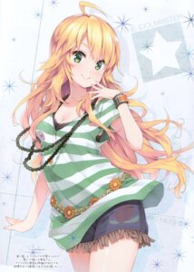 Rating: Safe Score: 47 Tags: cleavage hoshii_miki tagme the_idolm@ster User: kiyoe
