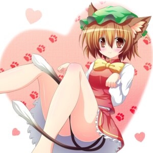 Rating: Safe Score: 20 Tags: animal_ears chen shin_osada tail touhou User: 椎名深夏