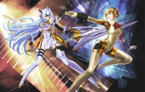 Rating: Safe Score: 34 Tags: aegis crossover kos-mos megaten persona persona_3 urimo xenosaga User: fireattack