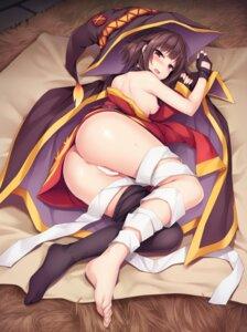 Rating: Explicit Score: 113 Tags: akizora_momiji anus ass bandages breasts censored feet kono_subarashii_sekai_ni_shukufuku_wo! megumin nipples no_bra nopan pussy thighhighs witch User: Mr_GT