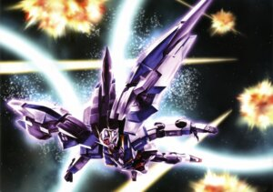 Rating: Safe Score: 8 Tags: 00_raiser gundam gundam_00 mecha User: Radioactive
