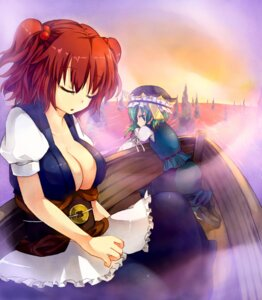 Rating: Safe Score: 16 Tags: cleavage onozuka_komachi shikieiki_yamaxanadu shin-a touhou User: Radioactive