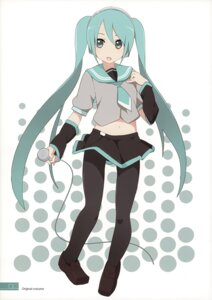 Rating: Safe Score: 12 Tags: hatsune_miku milky_been! ogipote pantyhose seifuku sketch tagme vocaloid User: Hatsukoi