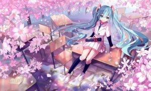 Rating: Safe Score: 60 Tags: hatsune_miku seifuku siji_(szh5522) vocaloid User: charunetra