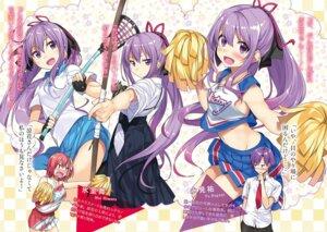 Rating: Safe Score: 8 Tags: cheerleader gintarou gym_uniform himuro_mai japanese_clothes nagami_suzuka nagami_yuu_(ore_ga_suki_nano_wa_imouto_dakedo_imouto_janai) ore_ga_suki_nano_wa_imouto_dakedo_imouto_janai seifuku tagme weapon User: kiyoe