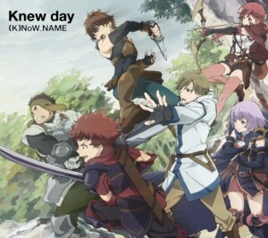 Rating: Safe Score: 28 Tags: armor disc_cover hai_to_gensou_no_grimgar haruhiro manato moguzo ranta shihoru sword thighhighs weapon yume_(grimgar) User: blooregardo