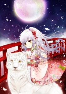 Rating: Safe Score: 21 Tags: kimono tsukumo_(an-mar) User: animeprincess