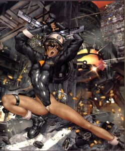 Rating: Questionable Score: 10 Tags: shirow_masamune User: Wraith