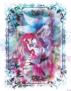 Rating: Safe Score: 4 Tags: dress gamirai mermaid miki_sayaka puella_magi_madoka_magica sakura_kyouko thighhighs wings User: charunetra