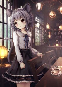 Rating: Safe Score: 79 Tags: animal_ears apple228 nazrin tail touhou User: Mr_GT