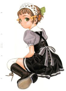 Rating: Safe Score: 18 Tags: range_murata thighhighs waitress User: petopeto