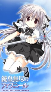 Rating: Safe Score: 28 Tags: iris_freyja juuoumujin_no_fafnir korie_riko seifuku thighhighs weapon User: edogawaconan