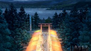 Rating: Safe Score: 37 Tags: kimi_no_na_wa landscape wallpaper User: hrbzz