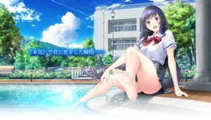 Rating: Questionable Score: 41 Tags: feet giga love_clear mikoto_akemi seifuku wet User: 糖果部部长