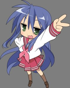 Rating: Safe Score: 22 Tags: chibi izumi_konata lucky_star seifuku transparent_png vector_trace User: Zatsune_Miku