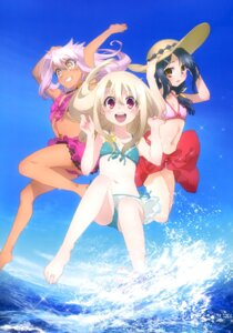 Rating: Safe Score: 57 Tags: bikini cleavage fate/kaleid_liner_prisma_illya fate/stay_night feet illyasviel_von_einzbern kuroe_von_einzbern miyu_edelfelt swimsuits wet User: drop