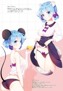 Rating: Questionable Score: 60 Tags: animal_ears ass ayami_(annahibi) pantsu re_zero_kara_hajimeru_isekai_seikatsu rem_(re_zero) skirt_lift tail User: charunetra