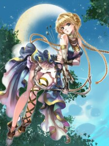 Rating: Questionable Score: 46 Tags: chushengdao dress kaku-san-sei_million_arthur weapon User: gogotea28