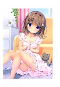 Rating: Questionable Score: 26 Tags: ass canvas+garden cleavage dress miyasaka_miyu neko pantsu tagme User: lightsnow