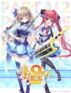 Rating: Safe Score: 24 Tags: 9_-nine- 9_-nine-_kokonotsu_kokonoka_kokonoiro crossover inui_sana izumi_tsubasu kujou_miyako mashiroiro_symphony palette thighhighs User: lounger