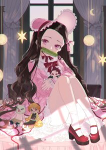 Rating: Questionable Score: 32 Tags: chibi heels japanese_clothes kamado_nezuko kamado_tanjirou kimetsu_no_yaiba lolita_fashion sarina_matsumura skirt_lift uniform wa_lolita User: yanis