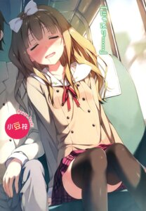 Rating: Safe Score: 98 Tags: azuki_azusa hentai_ouji_to_warawanai_neko kantoku seifuku thighhighs yokodera_youto User: milumon