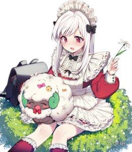 Rating: Safe Score: 30 Tags: maid mendou_kusai pokemon whimsicott User: Mr_GT