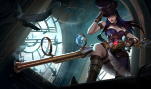 Rating: Safe Score: 9 Tags: caitlyn cleavage garter gun league_of_legends tagme User: Radioactive