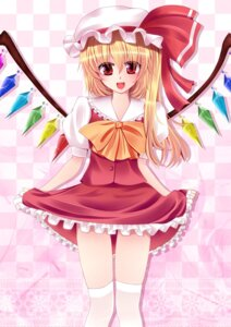 Rating: Safe Score: 12 Tags: flandre_scarlet fule thighhighs touhou User: Nekotsúh