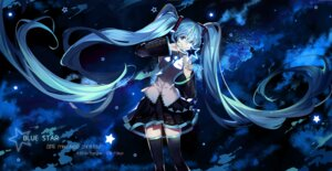 Rating: Safe Score: 57 Tags: hatsune_miku saberiii thighhighs vocaloid User: Mr_GT