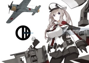 Rating: Safe Score: 28 Tags: amagi_mikoto graf_zeppelin_(kancolle) kantai_collection pantyhose uniform User: Mr_GT