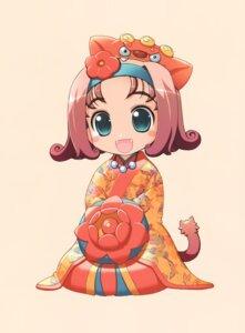Rating: Safe Score: 12 Tags: akata_itsuki chibi kimono User: blooregardo
