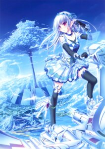 Rating: Safe Score: 63 Tags: elf pointy_ears tenmaso thighhighs User: Bulzeeb