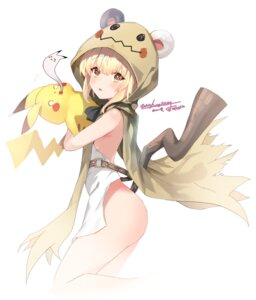 Rating: Questionable Score: 26 Tags: animal_ears ass cosplay kooemong loli mimikyu_(pokemon) no_bra nopan pikachu pokemon pokemon_sm tail weapon User: hiroimo2