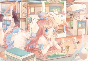 Rating: Safe Score: 32 Tags: an_(owo000111) animal_ears bunny_ears User: Mr_GT