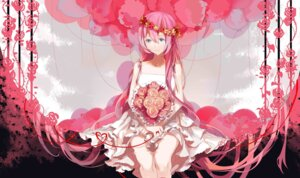 Rating: Safe Score: 30 Tags: dress megurine_luka vocaloid xiaonuo_(1906803064) User: charunetra