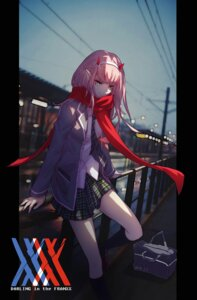 Rating: Questionable Score: 33 Tags: darling_in_the_franxx horns pointy_ears seifuku wei_(ako_) zero_two_(darling_in_the_franxx) User: sym455